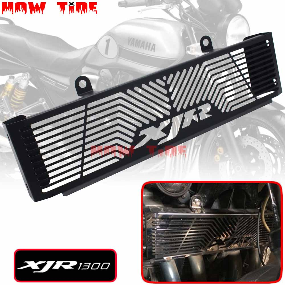 Motorcycle Accessories Radiator Guard Protector Grille Grill Cover For YAMAHA XJR1300 XJR1300C XJR 1300/1300C SPMotorcycle Accessories Radiator Guard Protector Grille Grill Cover For YAMAHA XJR1300 XJR1300C XJR 1300/1300C SP