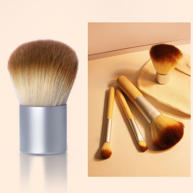 O.TWO.O 4PCS/LOT Bamboo Brush Foundation Brush Make-up Brushes Cosmetic Face Powder Brush For Makeup Beauty Tool 2