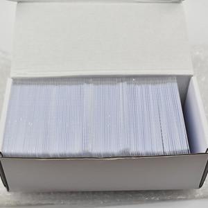Image 4 - 1 unids/lote de etiquetas rfid EM4305, tarjeta en blanco, fina, tarjeta de pvc, lectura y escritura, RFID, 125KHz