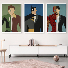 Elegant Superhero Batman Comics Canvas Print Wall Painting – 6