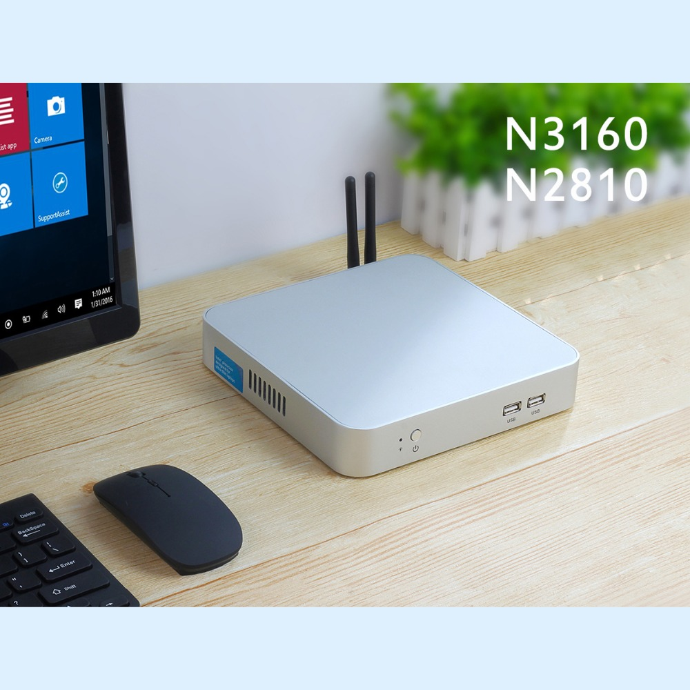 Achat Ordinateur Acheter Intel Cpu Mini Pc Sans Ventilateur Mini Ordinateur Windows