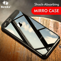 For iphone 7 7 plus 8 8 plus Case Benks murti series Ultra Thin 1mm transparent TPU+PC back cover for iphone 7 /7plus / 8/ 8plus