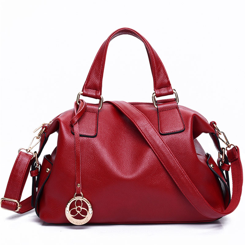 ФОТО 2017 Fashion Women Handbag High Quality Soft Split Leather Shoulder Bags Crossbody Bag Large Women's Messenger Bags Casual Tote