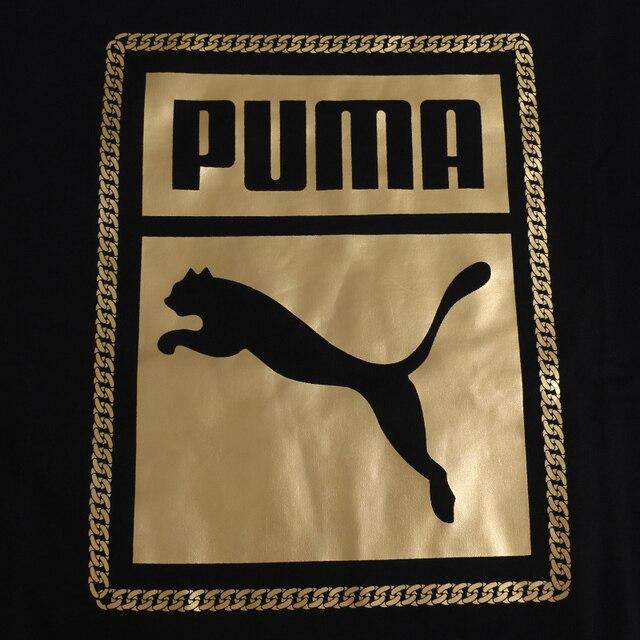 Original New Arrival 2018 PUMA Classics Graphics Box Crew Men's Pullover Jerseys Sportswear 3