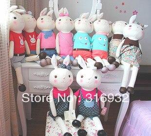 J1 Tiramisu couple plush wedding lover toy, metoo stuffed animal bunny ,70cm, 1pc