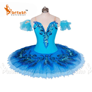 505de4094 Vestido profesional de ballet tutus Coppelia azul pájaro Luz de Luna Azul  Raymonda princesa Florina ...