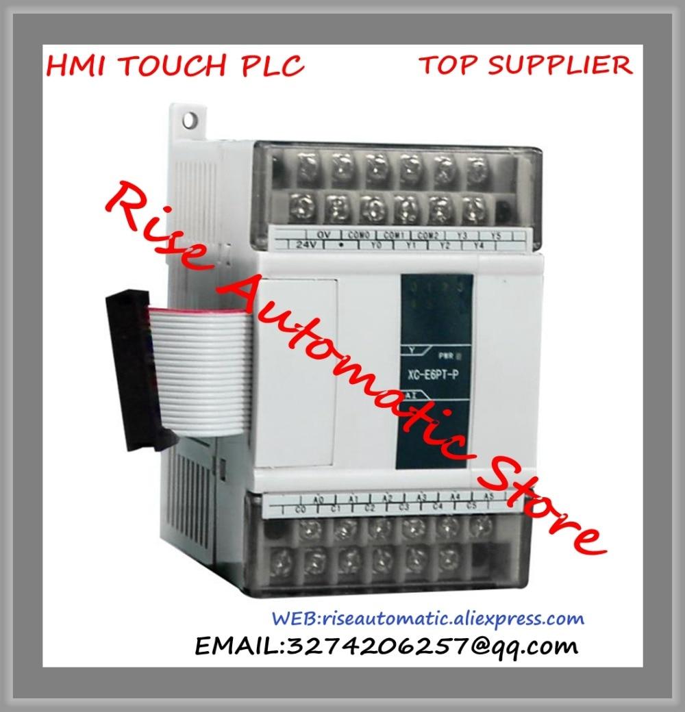 New Original Programmable Controller Module XC-E16X PLC Digital I/O Module DI 16 plc programmable logic controller module and 3 5 inch hmi learning plan hmi plc