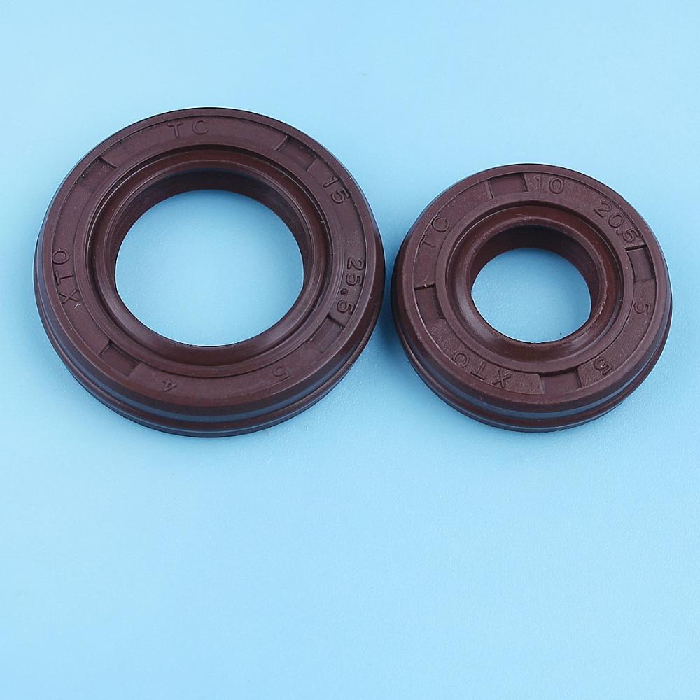 Oil Seal Set For Honda GX25 GX25N GX 25N Engine HHT25S FG110 Brush Cutter Tiller Trimmers Parts 91211-Z0H-003 91212-Z0H-003