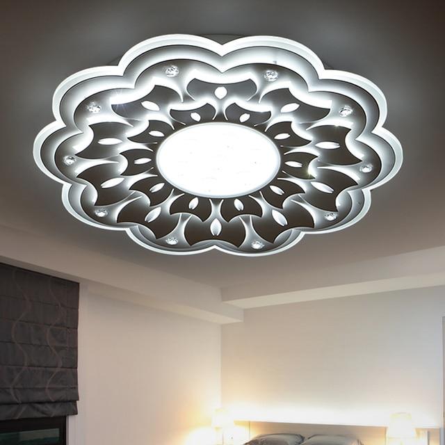 Minimaliste Grand LED Lustre Lampe Luminaire Moderne