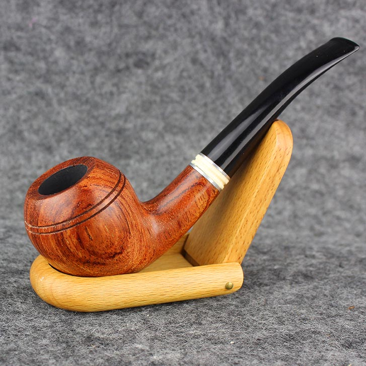 Smoking Rose Wood Tobacco Pipe 9mm Filter Handmade 1