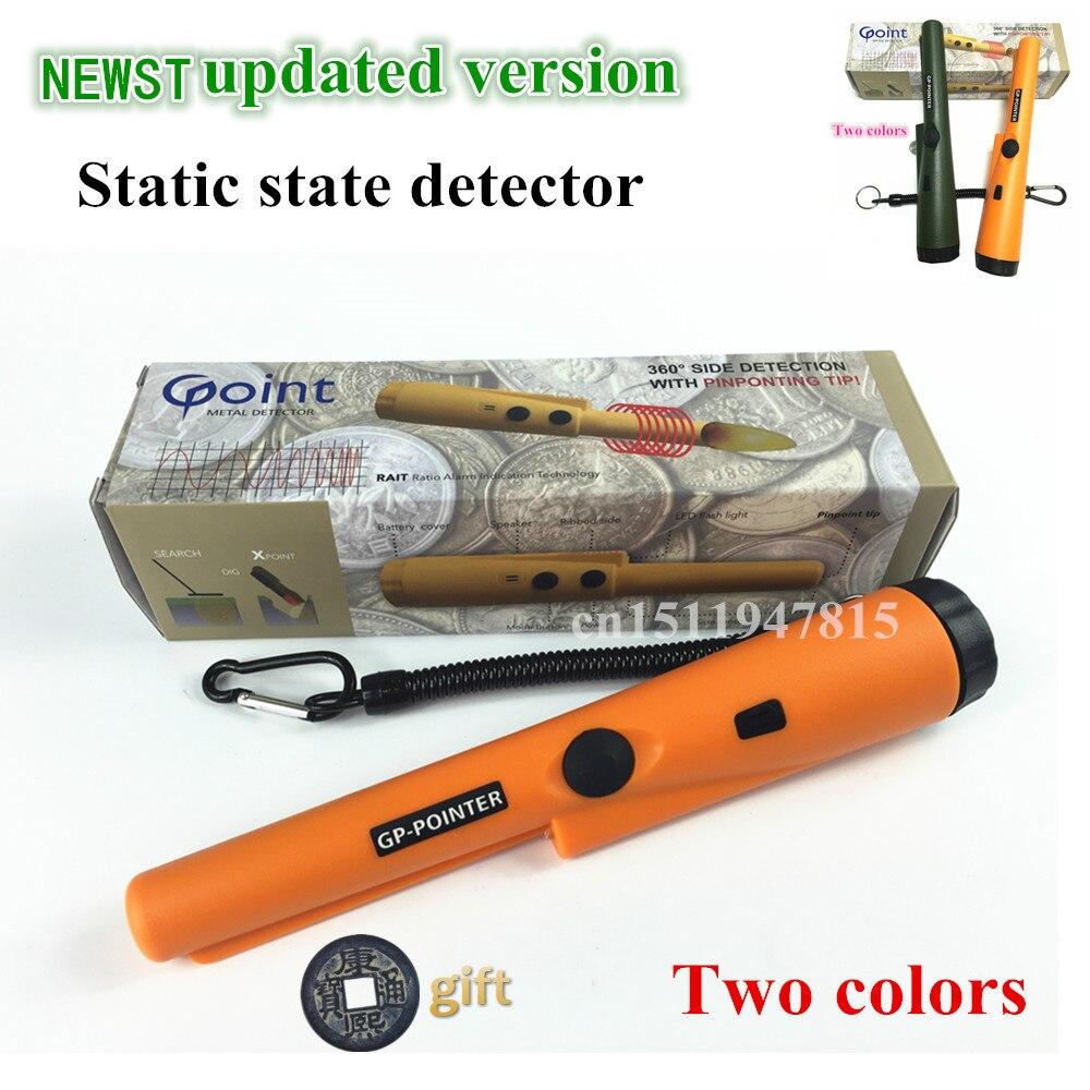 2018 nueva impresión determinar detector de metal de GP-puntero Garrett pro mismo estilo estado estático detector de Metales de oro envío gratuito