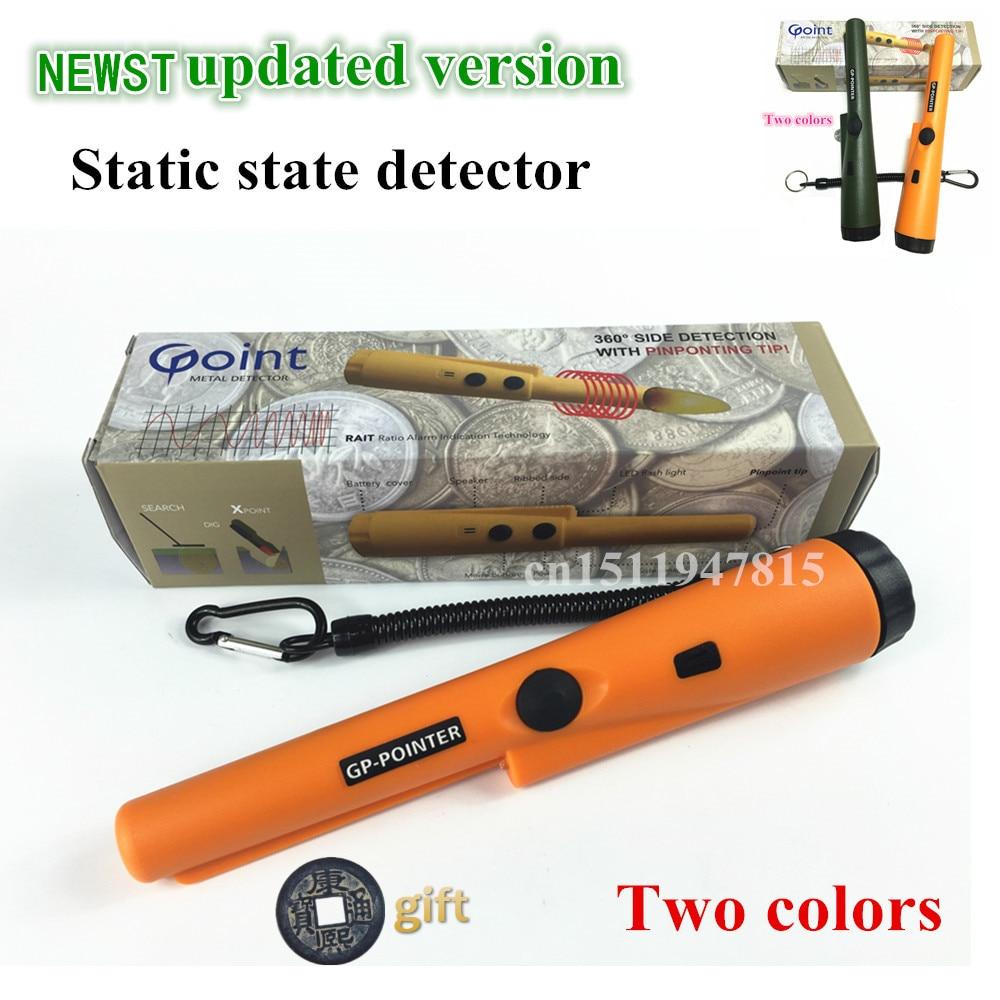 2019 nueva impresión determinar detector de metal de GP-puntero Garrett pro mismo estilo estado estático detector de Metales de oro envío gratuito