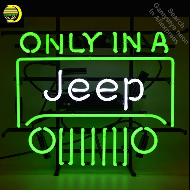 Only in A Jee Neon Sign neon bulb Sign neon lights custom LOGO Beer Pub Sign glass Tube Handcraft Iconic Sign Display light up