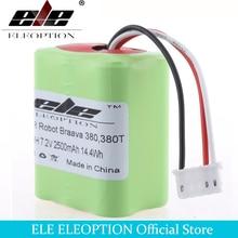 ELEOPTION 7.2V 2.5mAh For iRobot Roomba Braava 380 & 380T Va