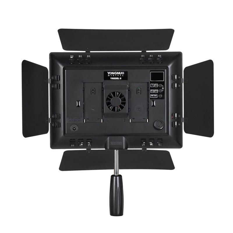 YONGNUO LED Vidéo Lumière YN600L II 5500 k 2.4g Bluetooth YN600 II 600 Panneau avec Adaptateur secteur CD30
