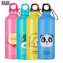 Joudoo 500 мл милые бутылки для воды с животными из нержавеющей
