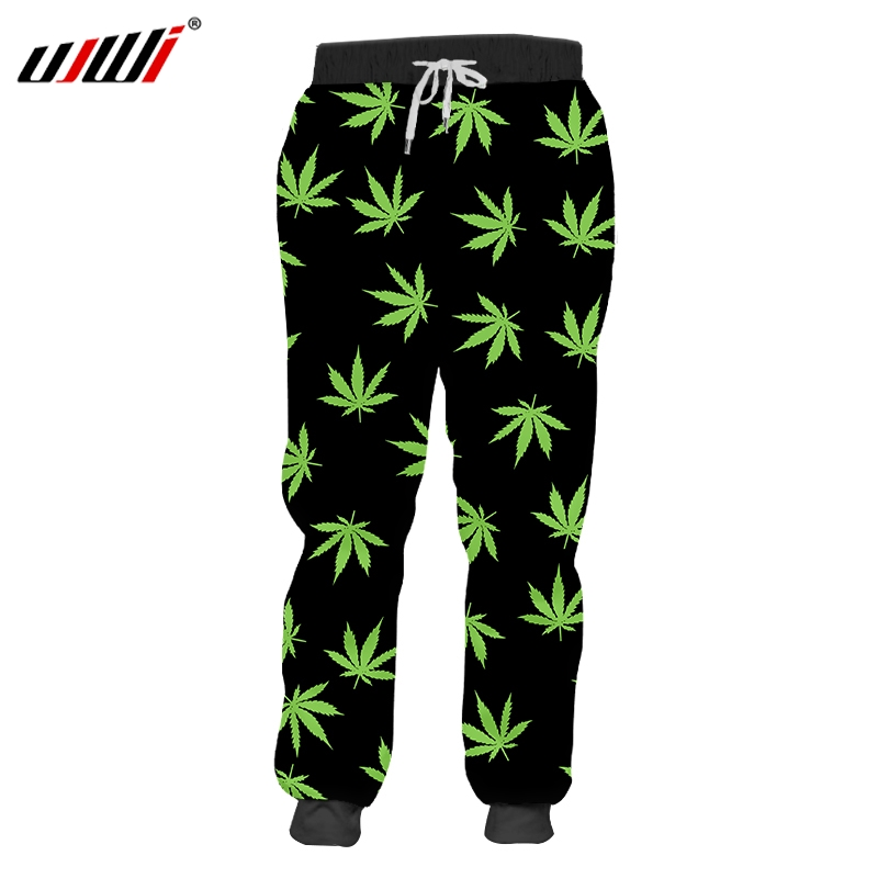 UJWI New Funny Robot Sweatpants 3D Printed Man Micheal Pants leaf Dollar Joggers Dropshipping Hot basketball Trousers