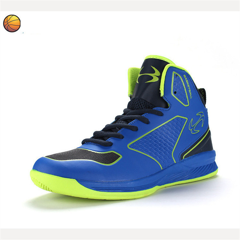 Children's basketball shoes rubber wear-resistant anti skid Sport Sneaker Size  31-38 new hot sale children shoes comfortable breathable sneakers for boys anti skid sport running shoes wear resistant free shipping