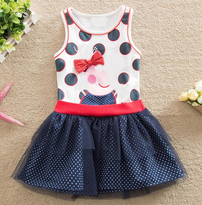 baby girls dress summer 2018 novelty children clothing embroidery fashion cartoon pig princess dress cotton kids dress for girl bibicola cartoon children jeans dress baby girls cotton leisure overalls dress fashion toddler girl denim dress for summer