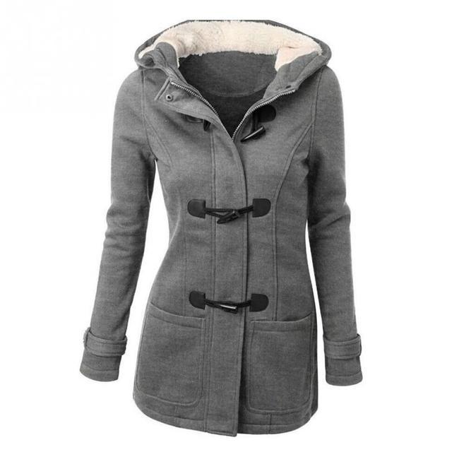 Women Clothing Warm Coat Jacket Outwear Winter Hooded Long Parka Overcoat Tops