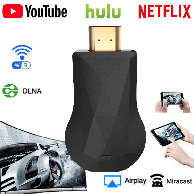 Wireless WiFi Display Dongle HDMI WiFi Display Dongle YouTube Netflix AirPlay Miracast TV Stick 2 3 Best Selling
