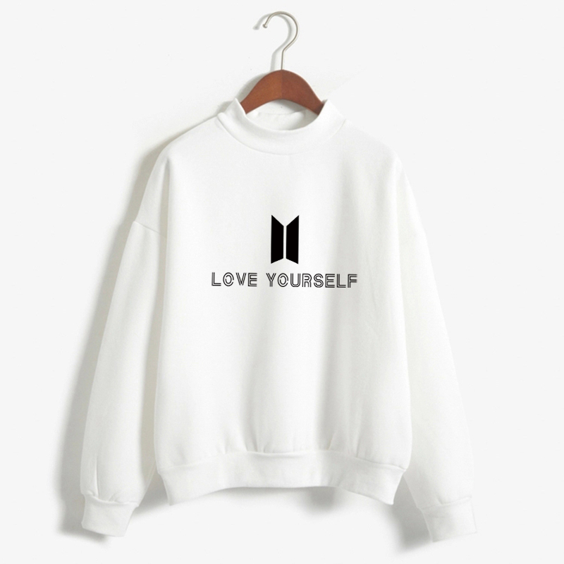 BTS Love self K pop sudaderas con capucha para mujer Bangtan boys Outwear hip-hop Hoodies New k-pop chándal Envío Directo