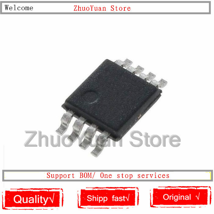 1PCS/lot DAC8551IADGKR DAC8551IADGKT DAC8551 D81 MSOP8 New Original IC Chip In Stock
