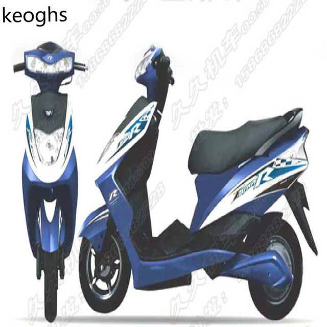 Waterproof red blue motorcycle stickers scooter stickers whole body sticker free shipping