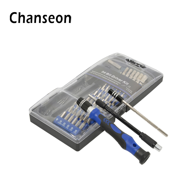 Multitool Precision Screwdriver Set 54 in 1 Torx Star Hex T8 Magnetic Drill For Phone Watch Sunglasses Repair Electric Tool Kit 10pcs 3 in 1 multi precision screwdriver set for glasses sunglasses watch phone repair kit with keychain screwdrivers set