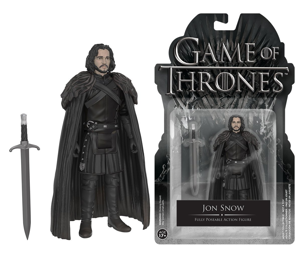 Official Funko Action Figure TV: Game of Thrones - Jon Snow with Sword 3.75'' Collectible Model Toy with Original Pacakge funko pop game of thrones daenerys targaryen action figure model with gift box