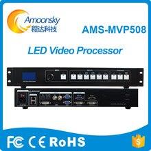 Display led sistema de controle linsn ts802d cartão P3 P4 P5 P6 P10 levou cartão de controle de módulo uso amoonsky processador mvp508