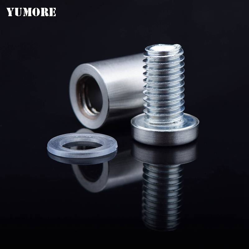 DHL Free Shipping Hollow stainless steel standoffs 12*25mm sign holder screw 200pcs/lot