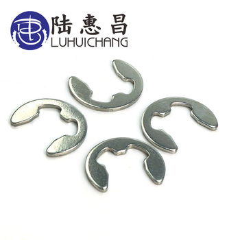 luchang M3 M4 M5 M6 M7 M8 Stainless Steel Circlip Sack Retainer Ring E type Buckle