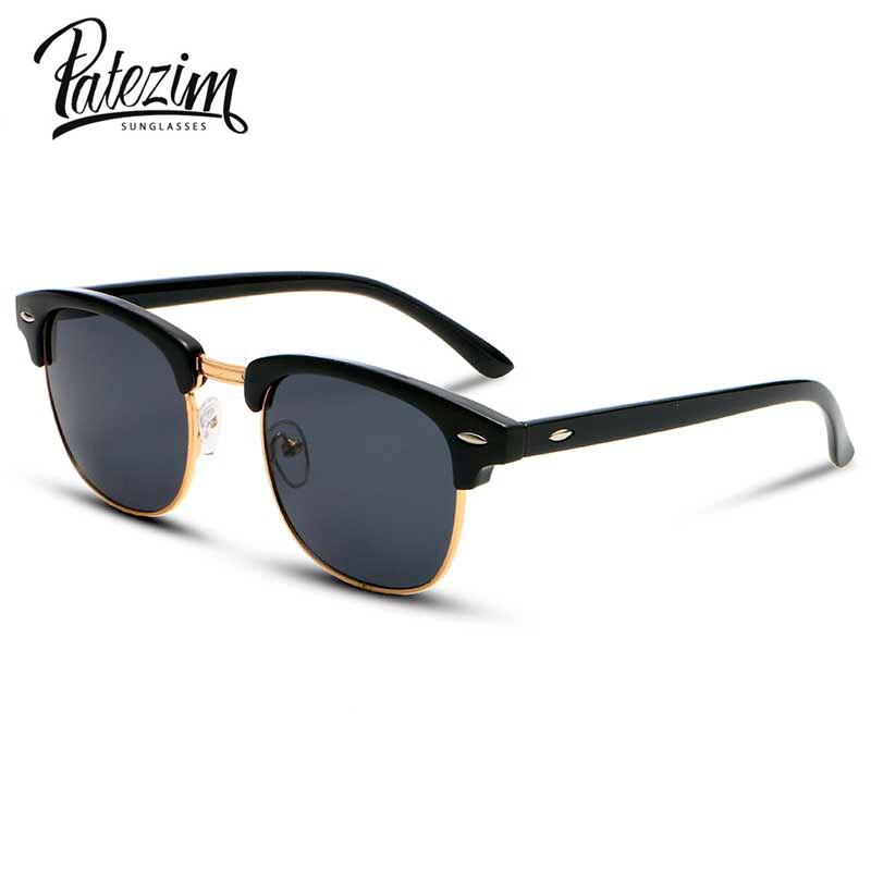 2017 Fashion New SunGlasses Summer Clubmaster Coating Sun ...