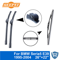QEEPEI Front And Rear Wiper Blade No Arm For BMW Series 5 E39 1995 2004 High
