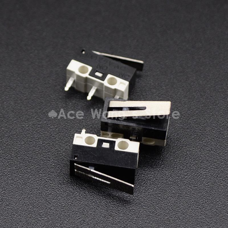 HTB1QuTkdEsIL1JjSZPiq6xKmpXal - 10Pcs Limit Switch Push Button Switch 1A 125V AC Mouse Switch 3Pins Micro Switch
