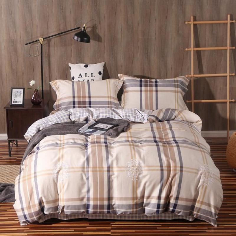 Phuwonda Home Egyptian Cotton Reactive Pritting Bedding Set Sheet Pillowcase Duvet Cover Bedcover In Sets From Garden On Aliexpress