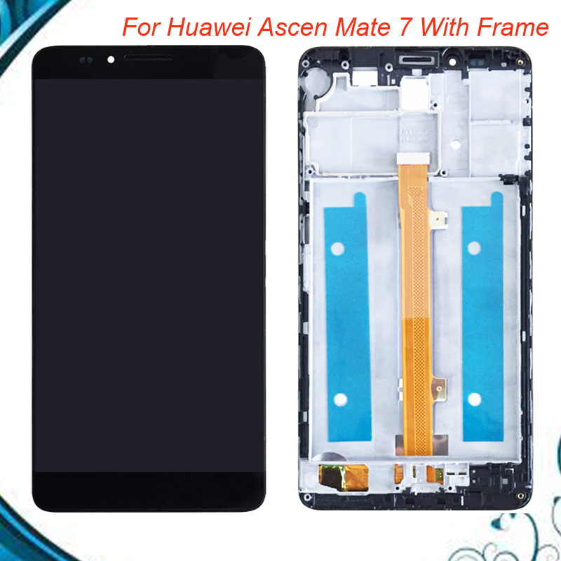 100% Tested OK For Huawei Ascend Mate 7 MT7-TL10 LCD Display with Touch Screen Digitizer Assembly Replacement With/Without Frame100% Tested OK For Huawei Ascend Mate 7 MT7-TL10 LCD Display with Touch Screen Digitizer Assembly Replacement With/Without Frame