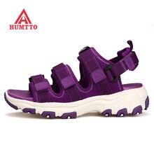 HUMTTO Női Szabadtéri Túrázás Trekking Beach Sandals Cipő Női Nyári Kültéri Beach Sea River Plate Shoes Nő