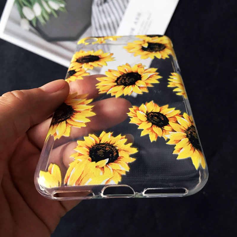 Милый Винтажный художественный чехол для телефона с цветочным рисунком розы для iPhone 6S 6 7 8 Plus XR X XS MAX 4 5S SE 11 pro max Мягкий силиконовый чехол из ТПУ