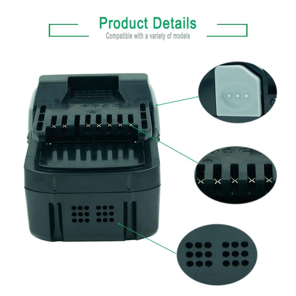 Batterie rechargeable Li-ion LERRONX 18V 4.0Ah pour outil électrique Hitachi BSL1830 BSL1840 DS18DSAL 330067 batterie au Lithium de remplacement - 3