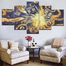 5 Piece Canvas painting Modern Abstract Art Home Decor Oil painting Wall Art Picture Canvas Prints Poster Living Room Decoration halloween party witch wizard hats solid color kinitted wool hats for halloween party masquerade cosplay costumecm