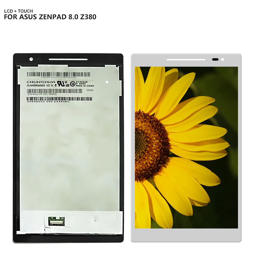 For Asus Zenpad 8.0 Z380 Z380KL Z380CX Z380C Display Panel LCD Combo Touch Screen Glass Sensor Replacement Parts все цены