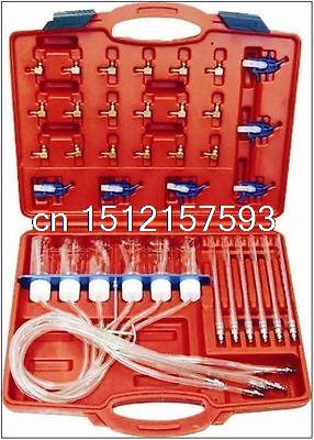 Diesel Injector Flow Test Tool Kit Common Rail Adaptor Fuel Tester Set N008293 new style high quality fuel injector tester cleaner tool kit