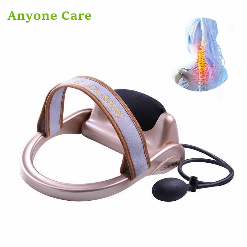New Fashion Horizontal Manual cervical traction device portable home neck tractor massage pillow Neck soothing Ease oppression new arrival neck massage roller acupressure cervical massage ball relieve the pain of neck soothing neck muscles