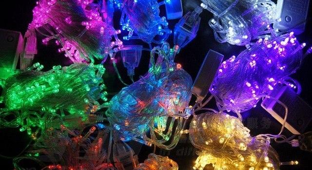 LED lights flashing light string Christmas lamp  30 m300l
