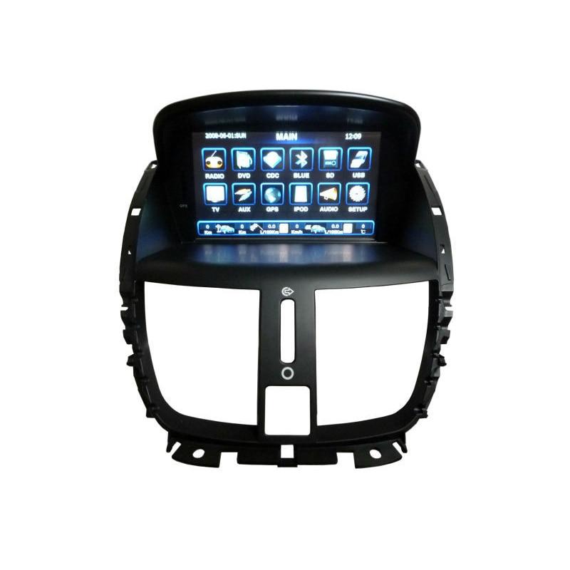 for car dvd player multimedia for peugeot 207 sw cc 2007 2014 gps navigation radio stereo rds. Black Bedroom Furniture Sets. Home Design Ideas