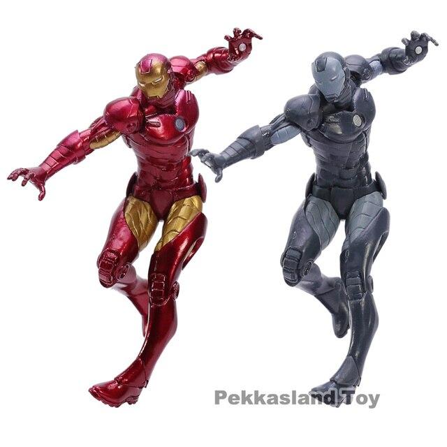 איש ברזל סופר גיבורי מארוול בורא X בורא ברזל איש פסל PVC פעולה איור אוסף דגם צעצועים