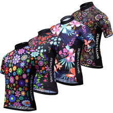 цена на Classical Team Cycling Jersey Breathable Outdoor Sports Cycling Shirts MTB Cycling Clothing Maillot Ciclismo Multi Colors