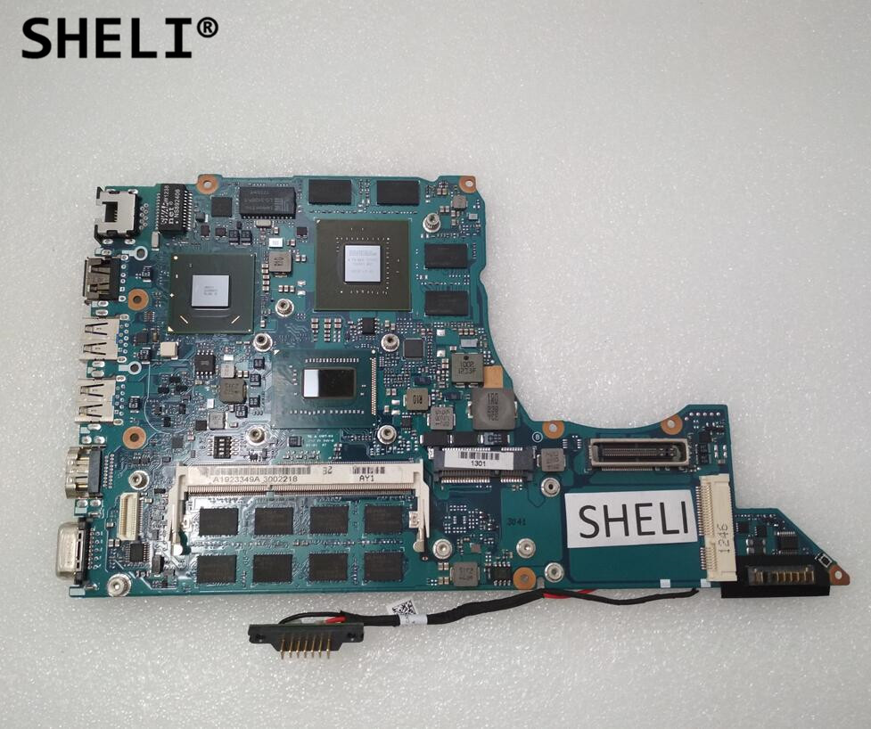 SHELI For Sony MBX-259 laptop Motherboard notebook pc mainboard main board with <font><b>i5</b></font>-<font><b>3230M</b></font> 2.60GHz GT640M 1P-0128700-A011 test ok image